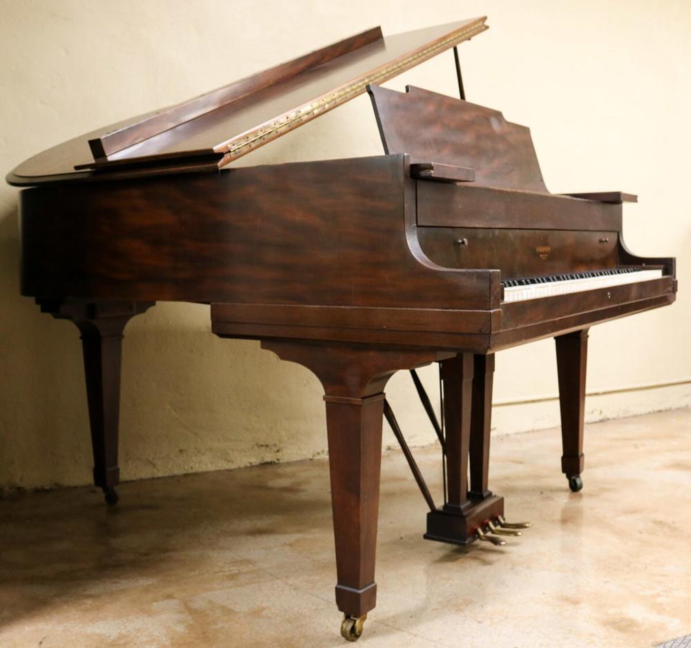 Hardman Hardman Baby Grand Piano Walnut w/ Bench