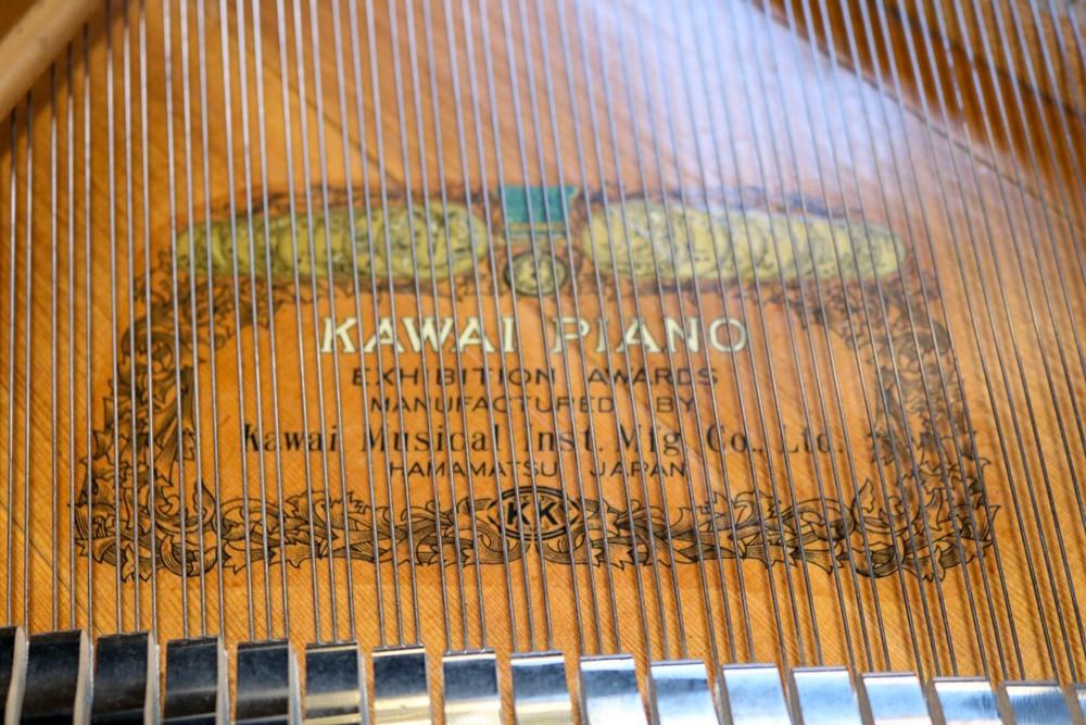 Kawai Kawai KG-3 61 Grand Piano Polished Ebony