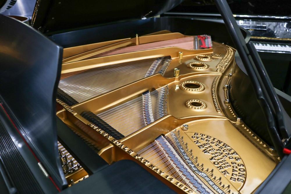 Steinway Restored Steinway Model A Grand Piano Satin Ebony