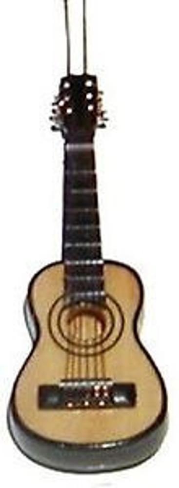 Folk Guitar Ornament 4