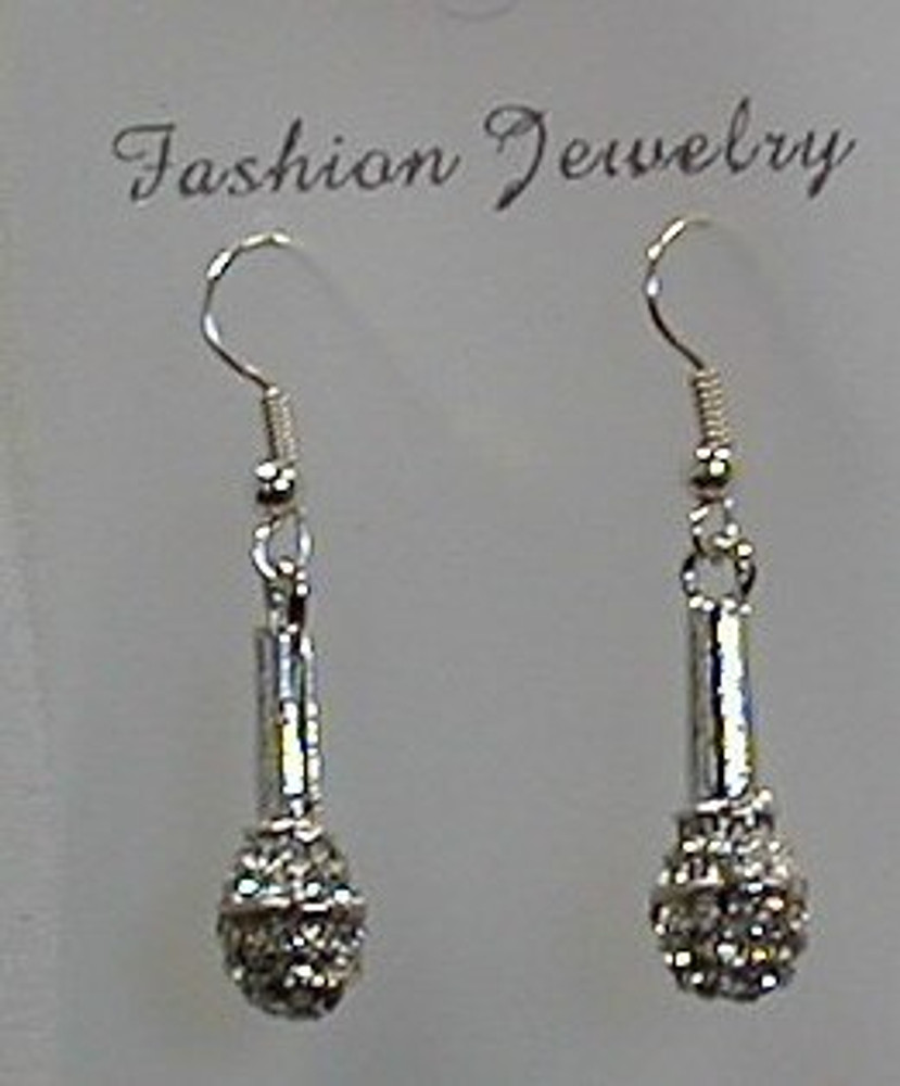 Earring with Microphone Clear