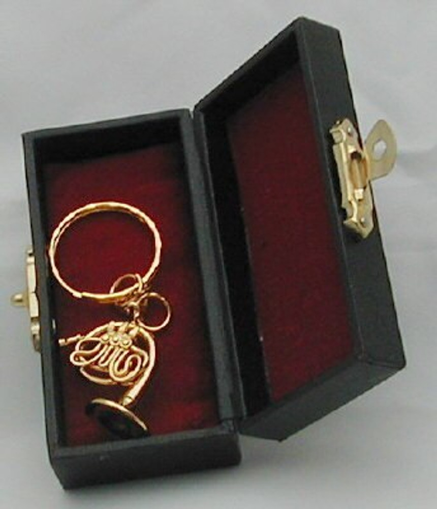 French Horn Key Chain 1.25