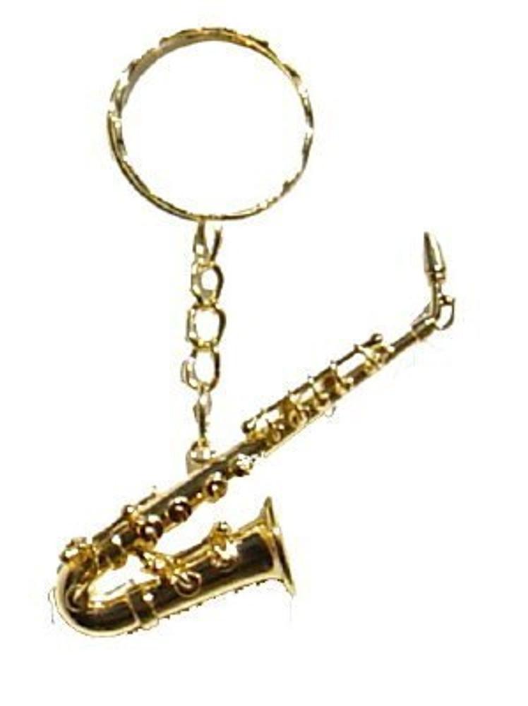 Saxophone Key Chain 2.5