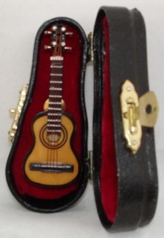 Folk Guitar Pin 2.75