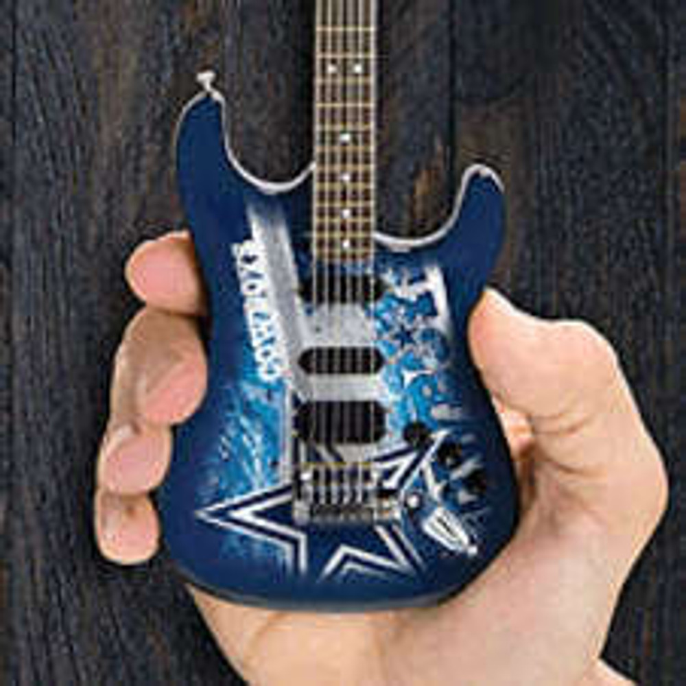 Woodrow Dallas Cowboys 10 Collectible Mini Guitar