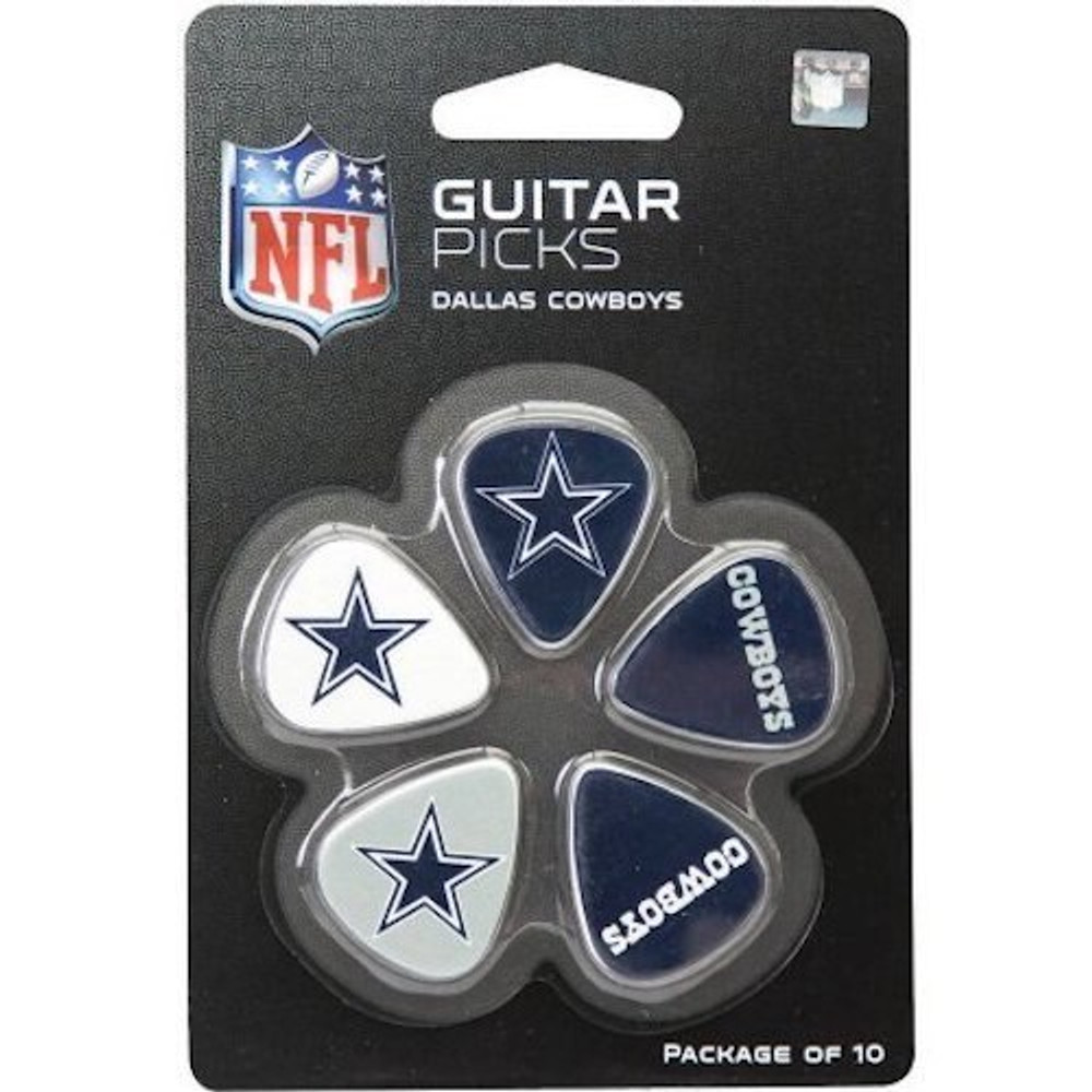 Woodrow Dallas Cowboys Guitar Picks
