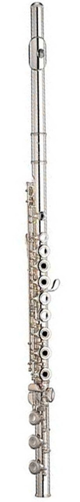 Yamaha Yamaha YFL481H Intermediate Flute Sterling Silver Body with In-Line G and B-Footjoint