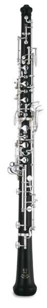 Yamaha Yamaha YOB-441 Intermediate Oboe Grenadilla Wood Body