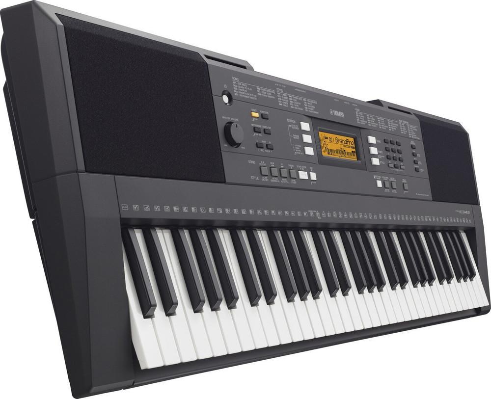 Yamaha Yamaha PSRE343KIT 61-Key Mid-Level Portable Keyboard w/ Survival Kit