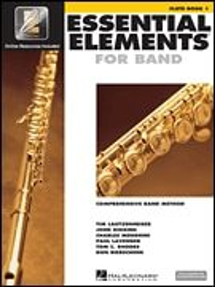 Hal Leonard Essential Elements for Band – Flute Book 1 with EEi