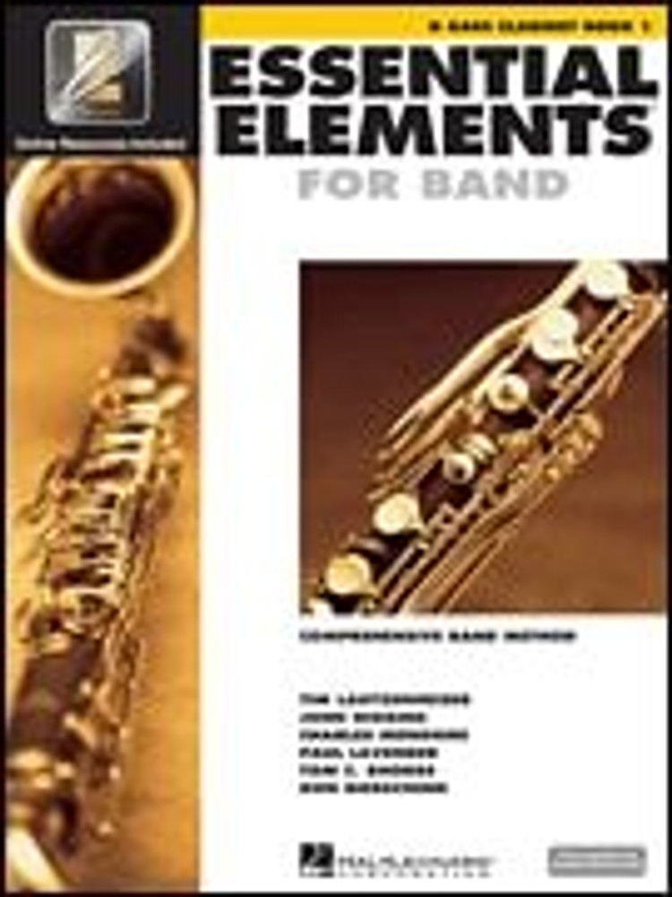Hal Leonard Essential Elements for Band – Bb Bass Clarinet Book 1 with EEi