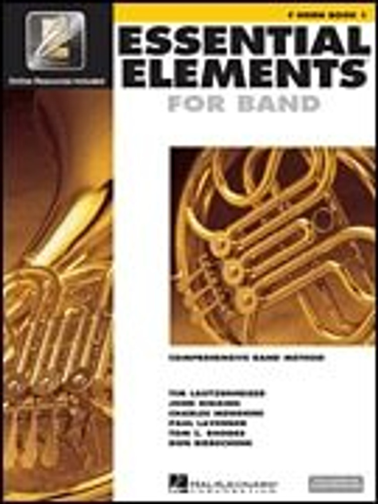 Hal Leonard Essential Elements for Band – F Horn Book 1 with EEi
