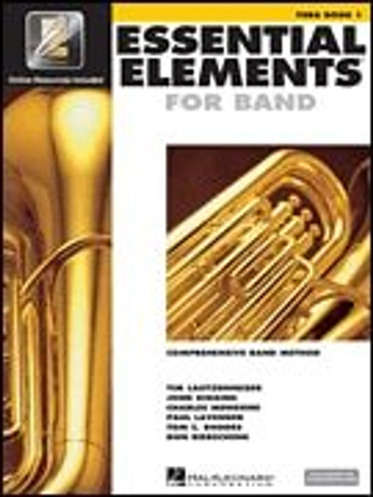Hal Leonard Essential Elements for Band – Tuba Book 1 with EEi