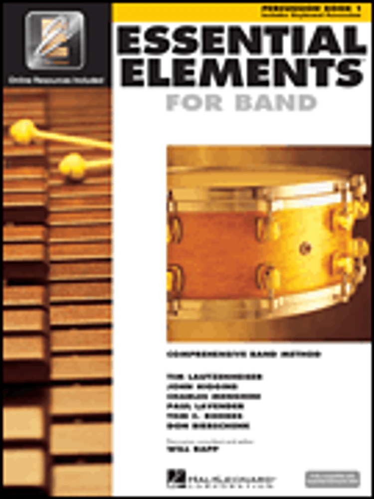 Hal Leonard Essential Elements for Band – Percussion/Keyboard Percussion Book 1 with EEi