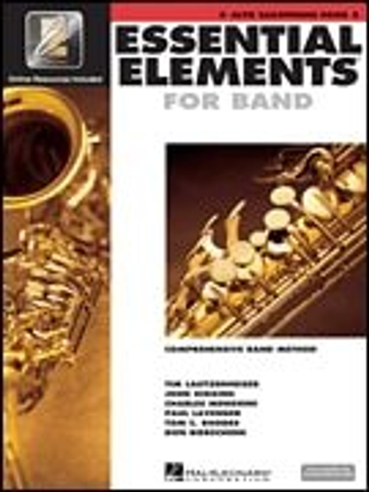 Hal Leonard Essential Elements for Band – Alto Saxophone Book 2 with EEi