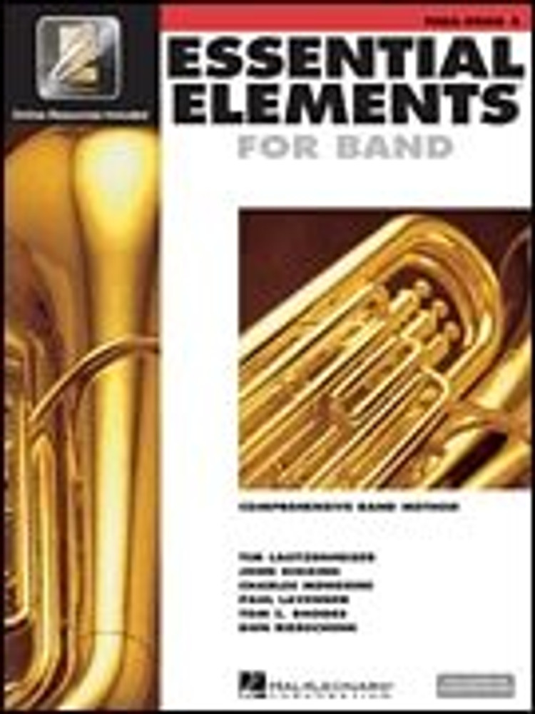 Hal Leonard Essential Elements for Band – Tuba Book 2 with EEi