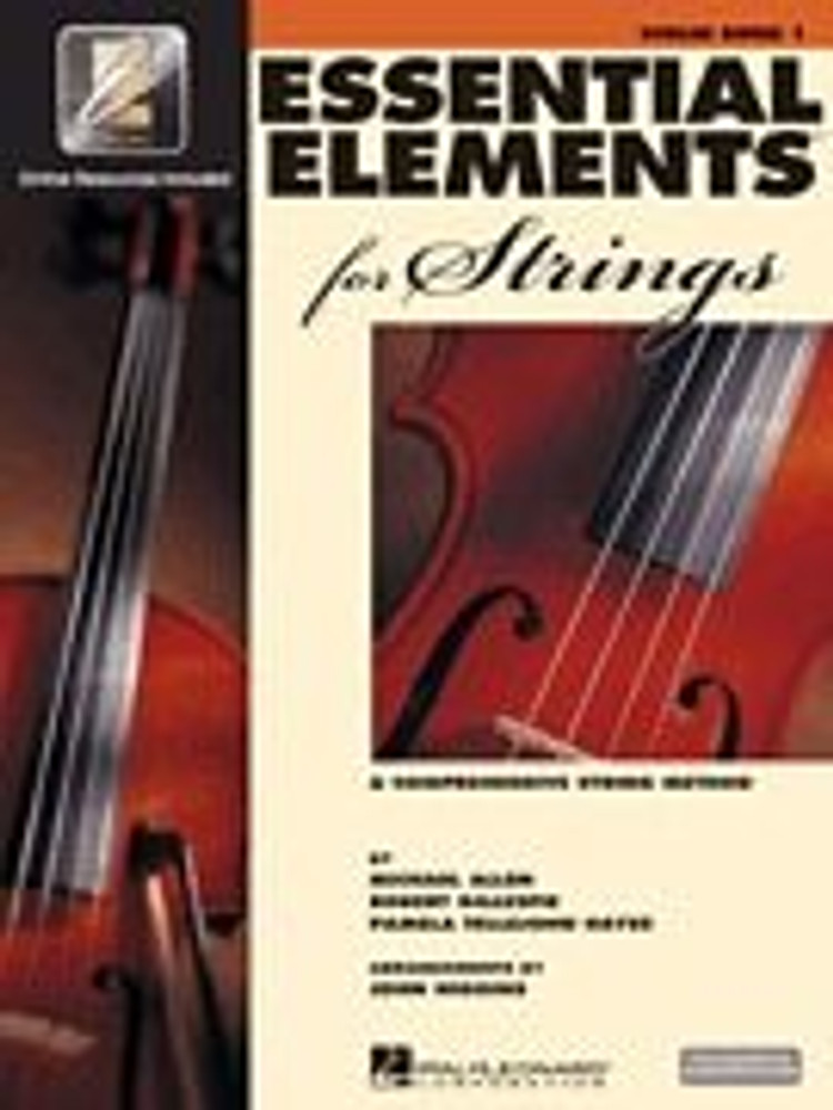 Hal Leonard Essential Elements for Strings – Violin Book 1 with EEi