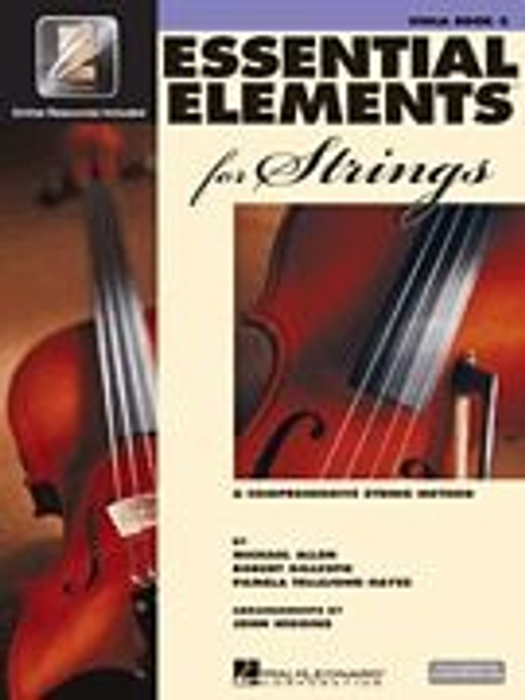 Hal Leonard Essential Elements for Strings – Viola Book 2 with EEi