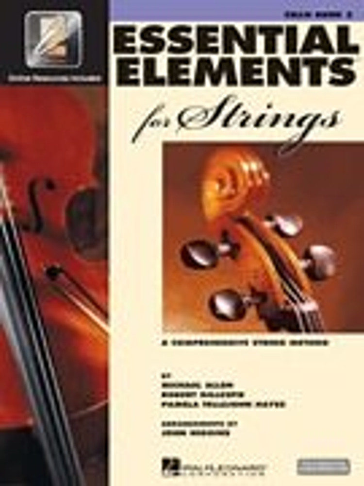 Hal Leonard Essential Elements for Strings – Cello Book 2 with EEi