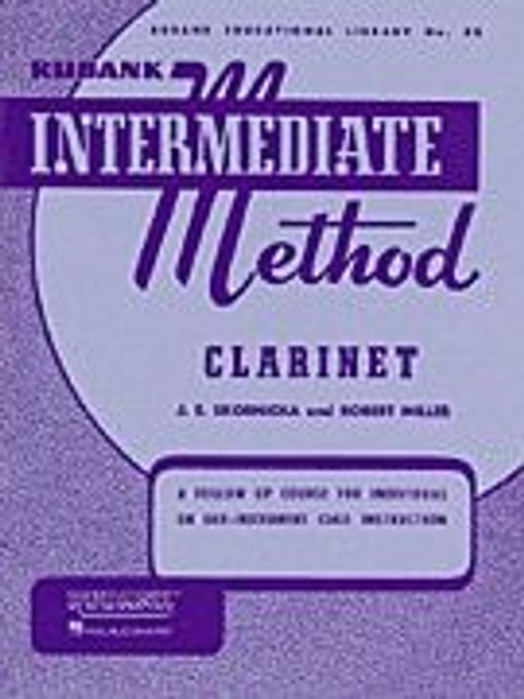 Hal Leonard Rubank Intermediate Method – Clarinet