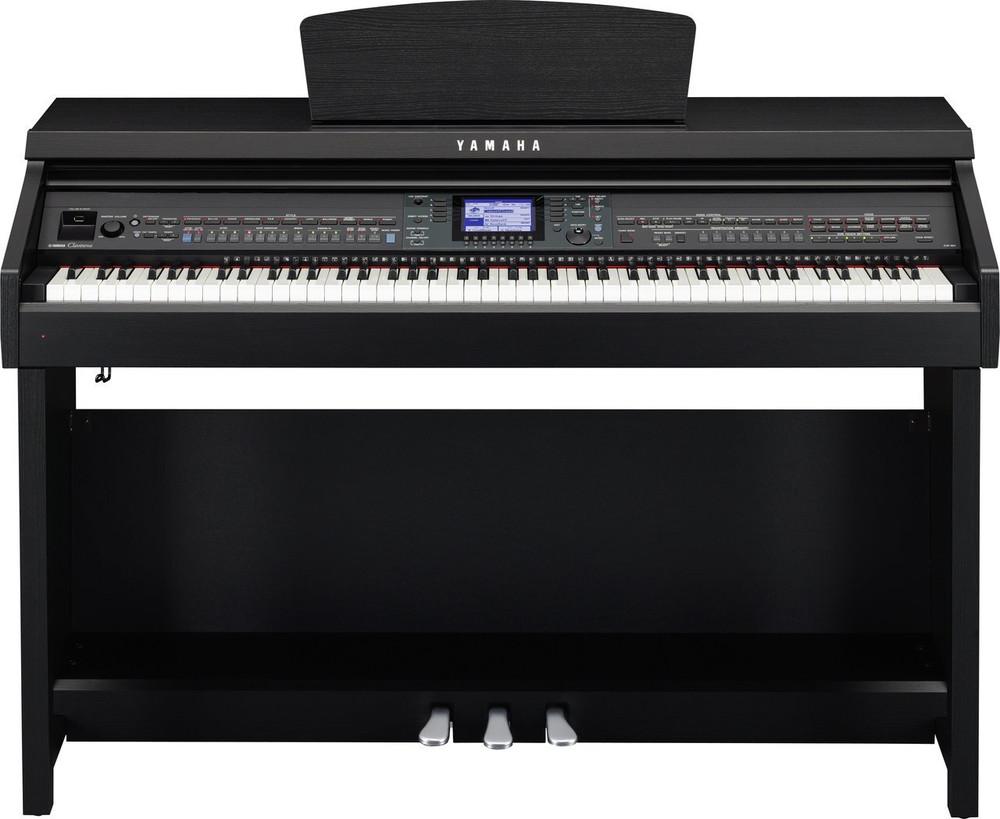 Yamaha Yamaha 88-Key 600 Series Clavinova Black Walnut