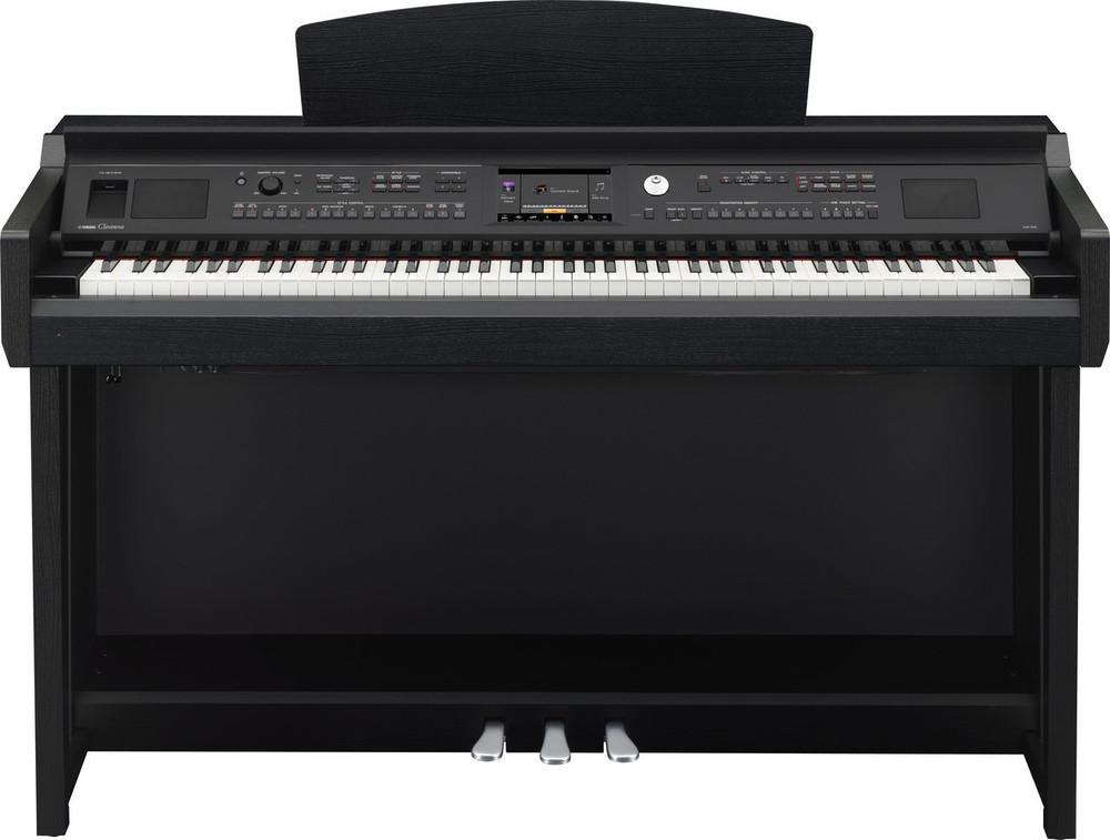Yamaha Yamaha CVP605B 88-Key 600 Series Clavinova Black Walnut