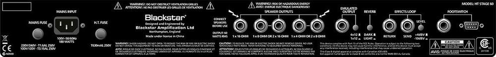 Blackstar Backstar HT Stage - 60W 2x12 Guitar Combo Amp