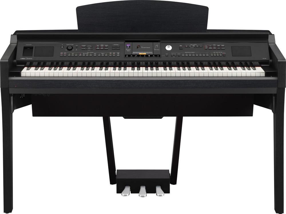 Yamaha Yamaha CVP609B 88-Key 600 Series Clavinova Black Walnut