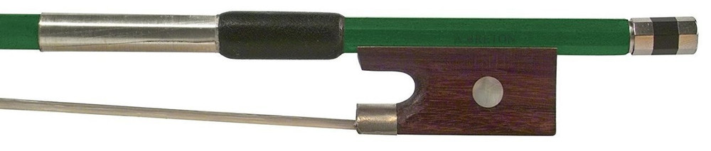 Anton Breton Anton Breton AB-110GN Brazilwood Student Violin Bow - 4/4 Size - Green