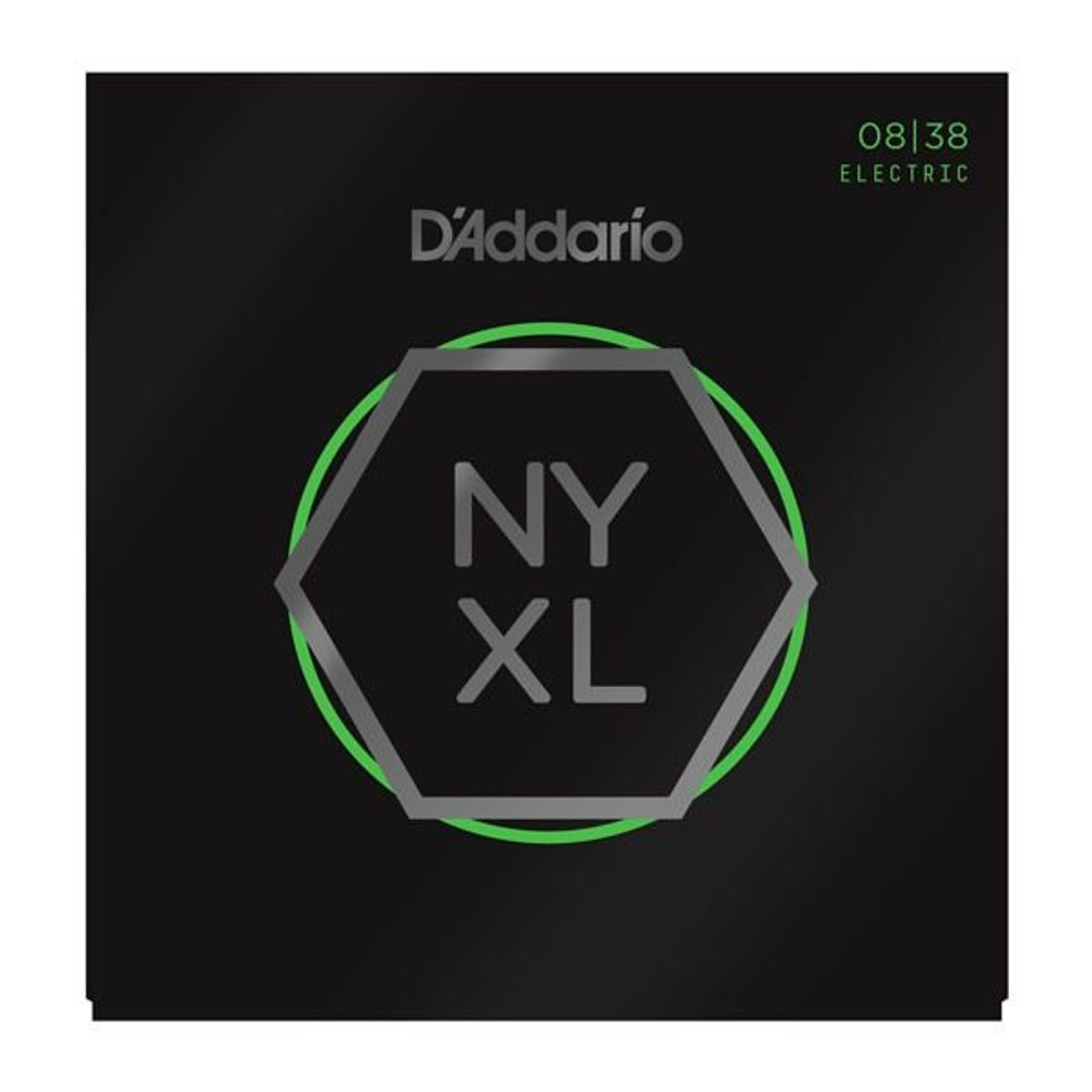 DAddario Daddario NYXL0838 Nickel Wound, Extra Super Light, 08-38 Electric Strings