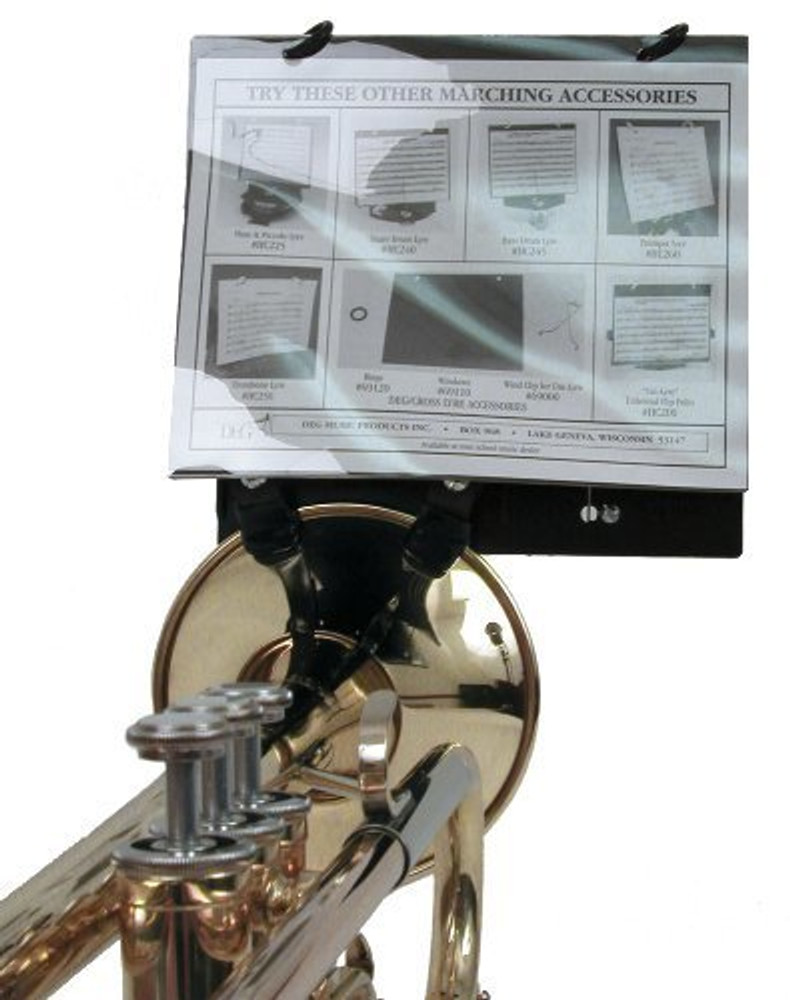 DEG Trumpet Clamp on Bell Lyre