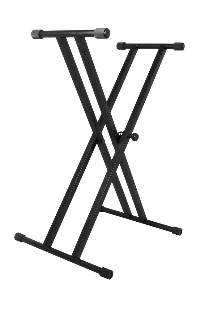 On-Stage On-Stage Classic Double-X Keyboard Stand
