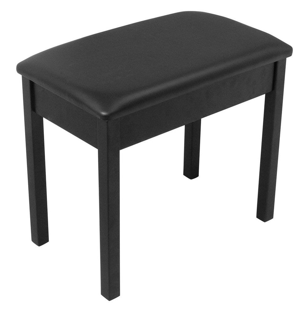 On-Stage On-Stage Flip-Top Bench, Black