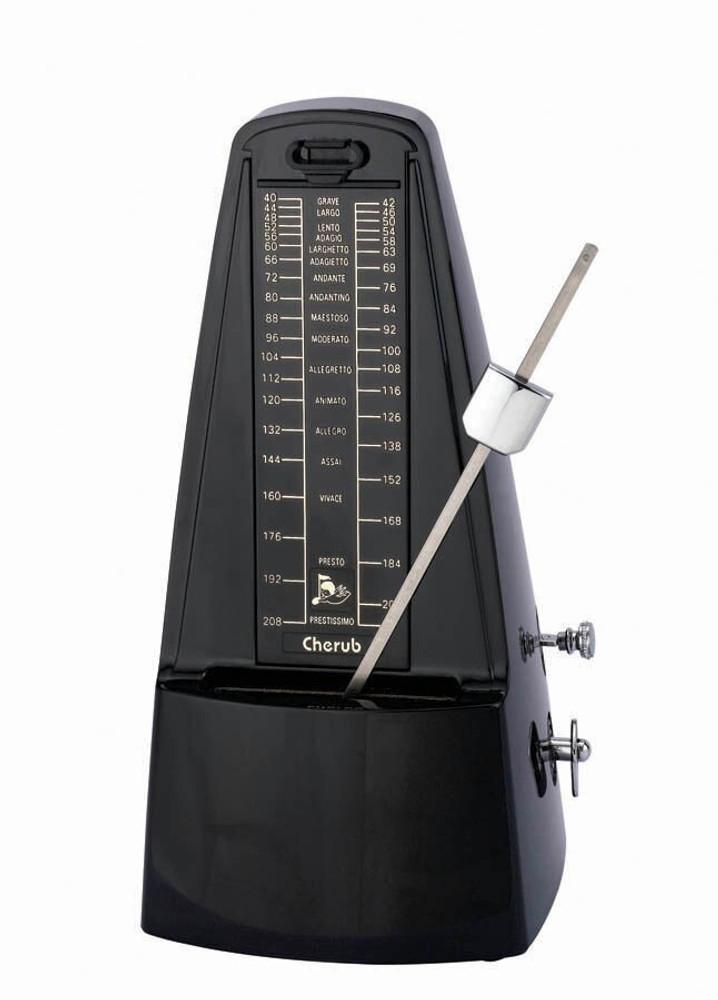 Cherub WSM-330B Classic Metronome Black Plastic