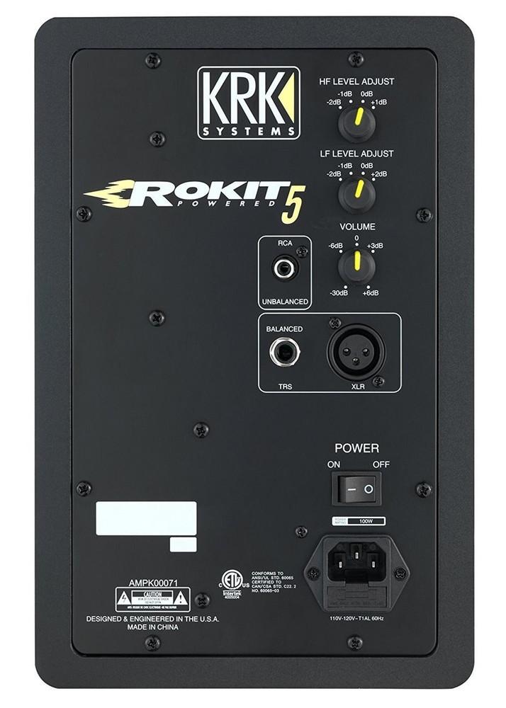 KRK Demo KRK RP5G3 5 High Performance Studio Monitors Black