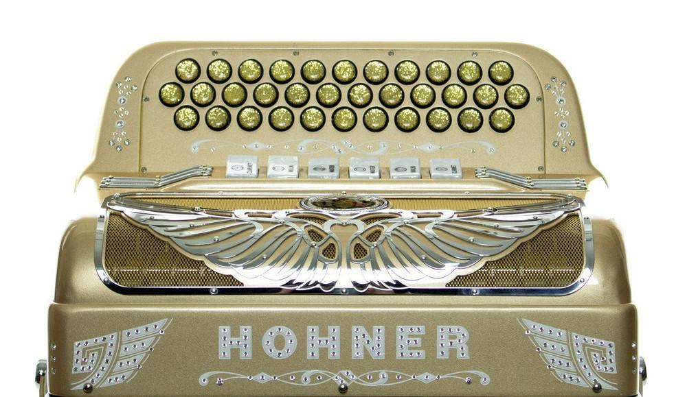 Hohner Hohner Anacleto Rey Aguila TT FBE/EAD Compact Accordion