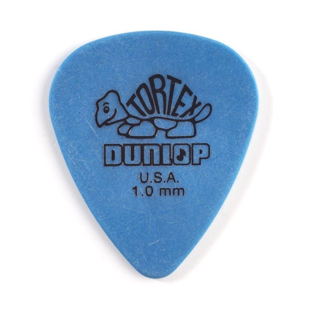 Dunlop Dunlop Tortex Standard 1.0mm Blue Guitar Pick 12 Pack