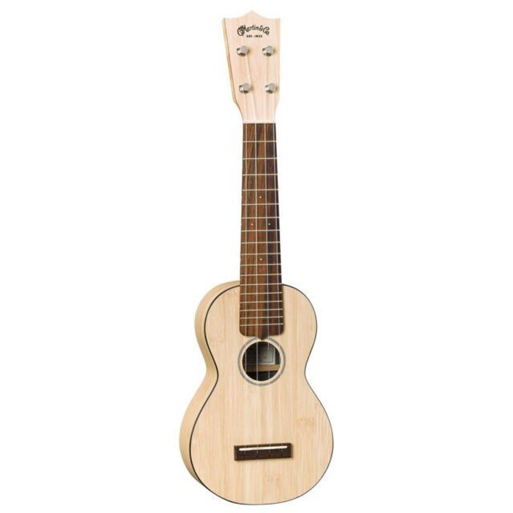 Martin DEMO Martin OX Bamboo Soprano Uke Natural MINT 5807