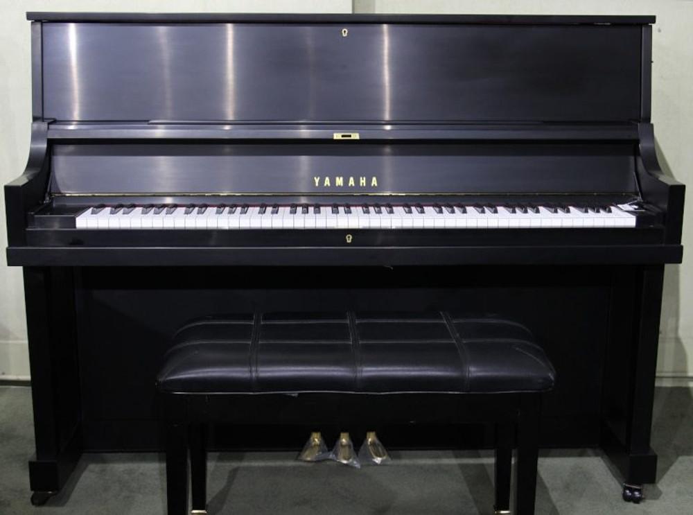 Yamaha Used Yamaha P22 45 Upright Piano - Satin Ebony