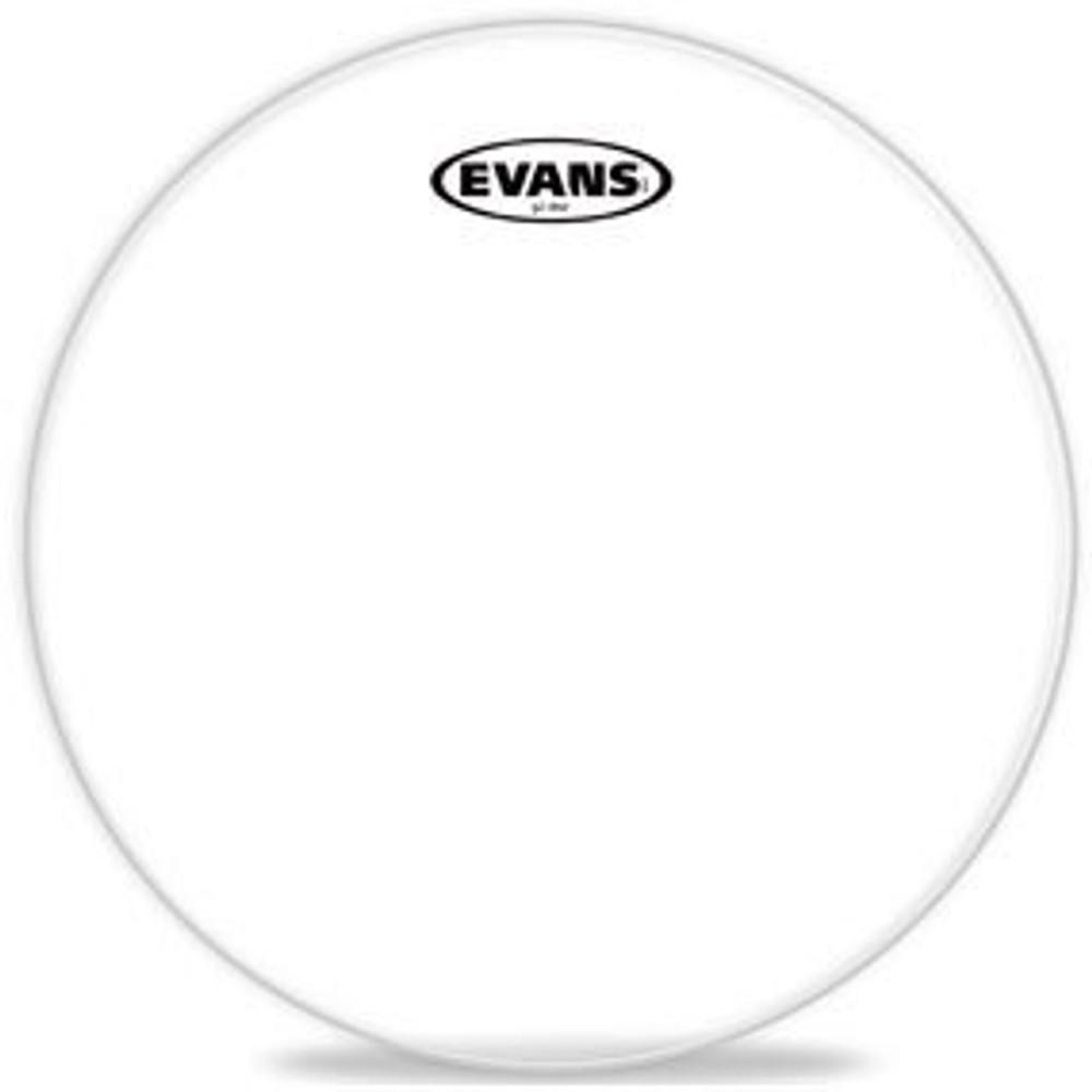 DAddario Evans 12 G1 Clear Tom Head