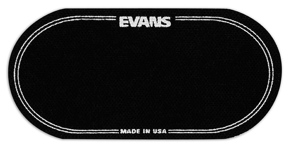 DAddario Evans EQ Double Pedal Patch, Black Nylon