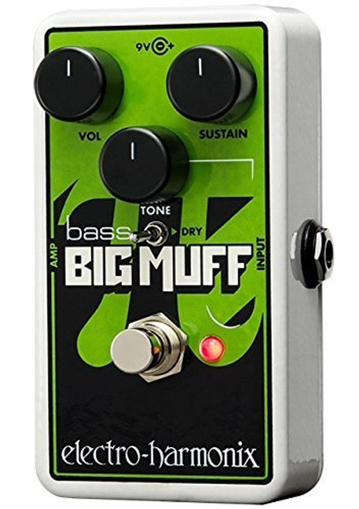 Electro-Harmonix Electro-Harmonix Nano Bass Big Muff Bass Distortion Effects Pedal