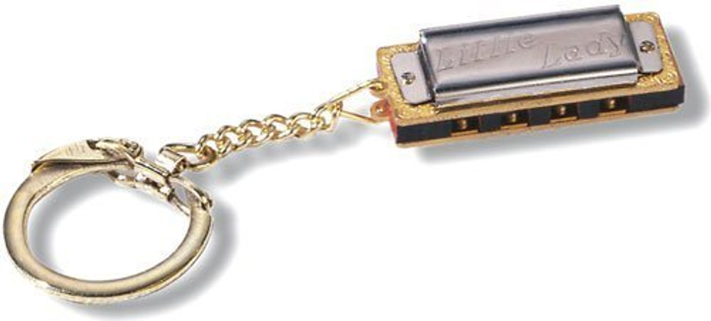 Hohner Hohner Little Lady Harmonica Keychain