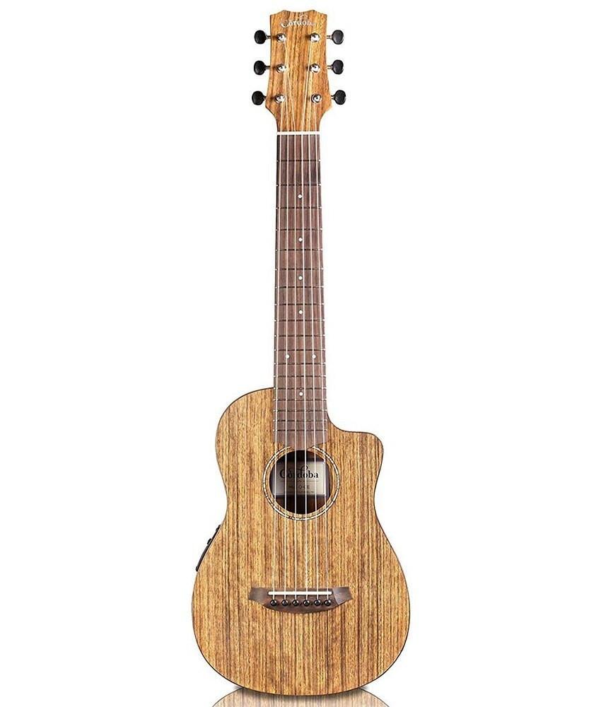 Cordoba Cordoba Mini O-CE Travel Acoustic-Electric Nylon String Guitar w/ Bag