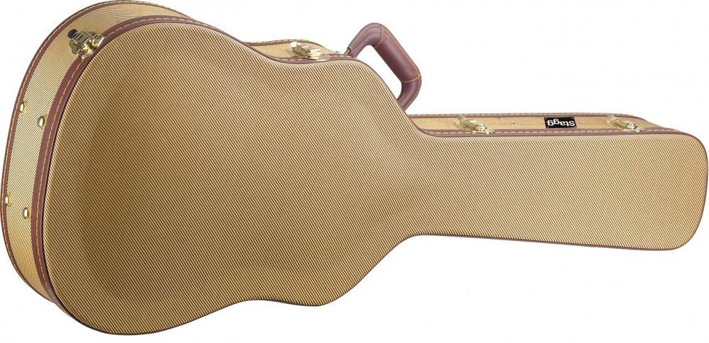 Stagg Stagg GCX-WGD Gold Tweed Western Guitar Case