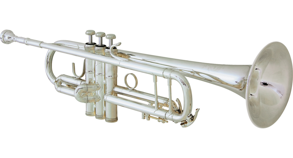 BandS 3137 Challenger Professional Bb Trumpet - #37 Bell - Silver Plating