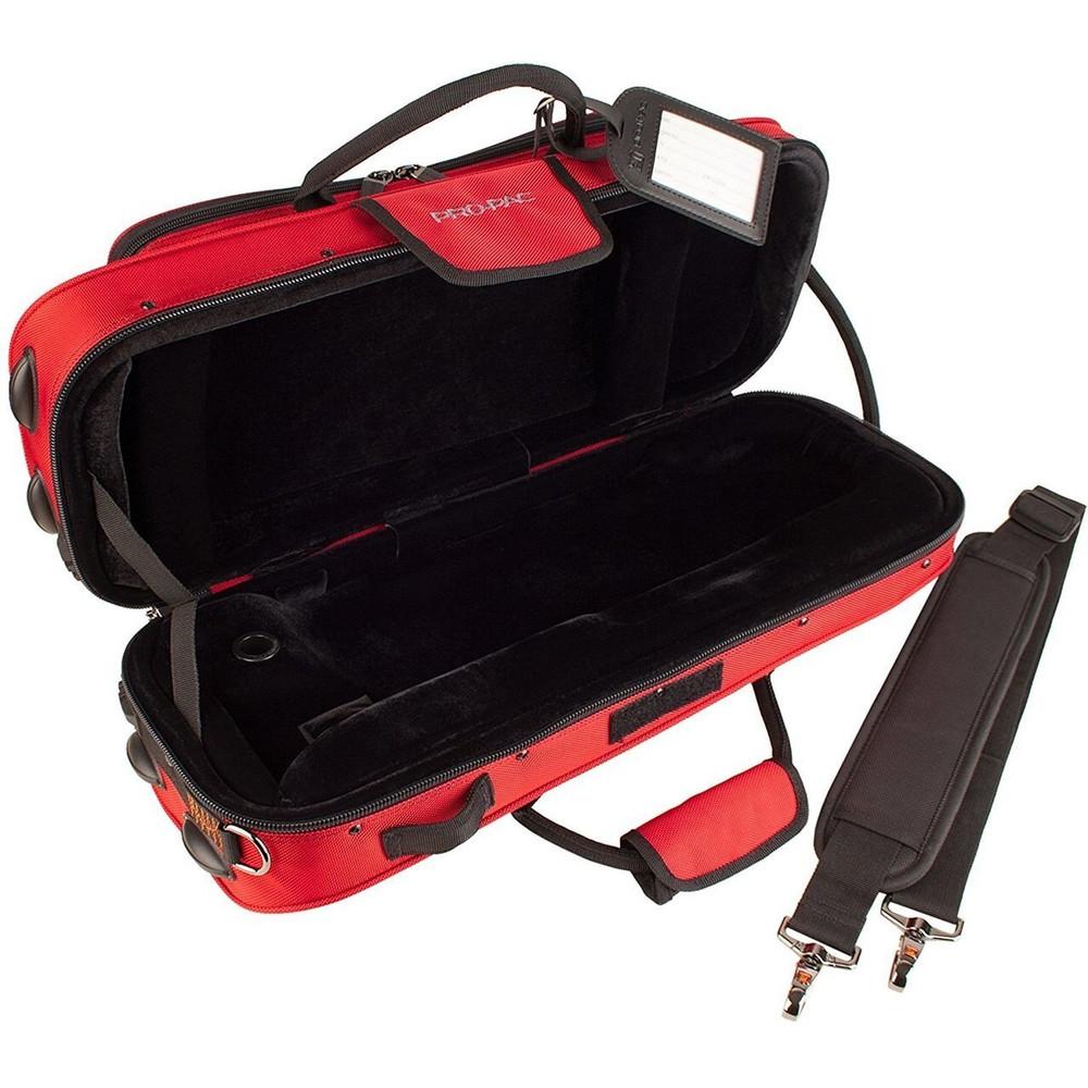 Protec Protec PB301CTRX Trumpet Contoured PRO PAC Case Red
