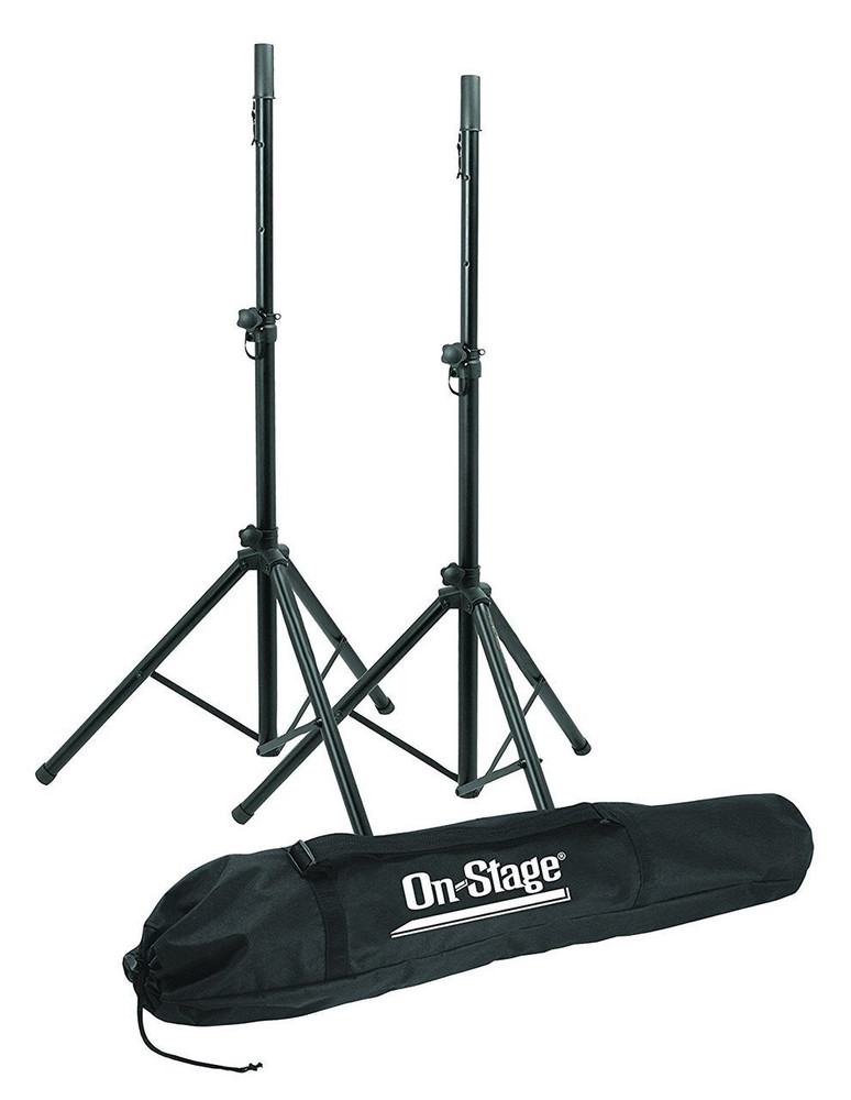 On-Stage On-Stage SSP7900 All Aluminum Speaker Stand Package with Bag