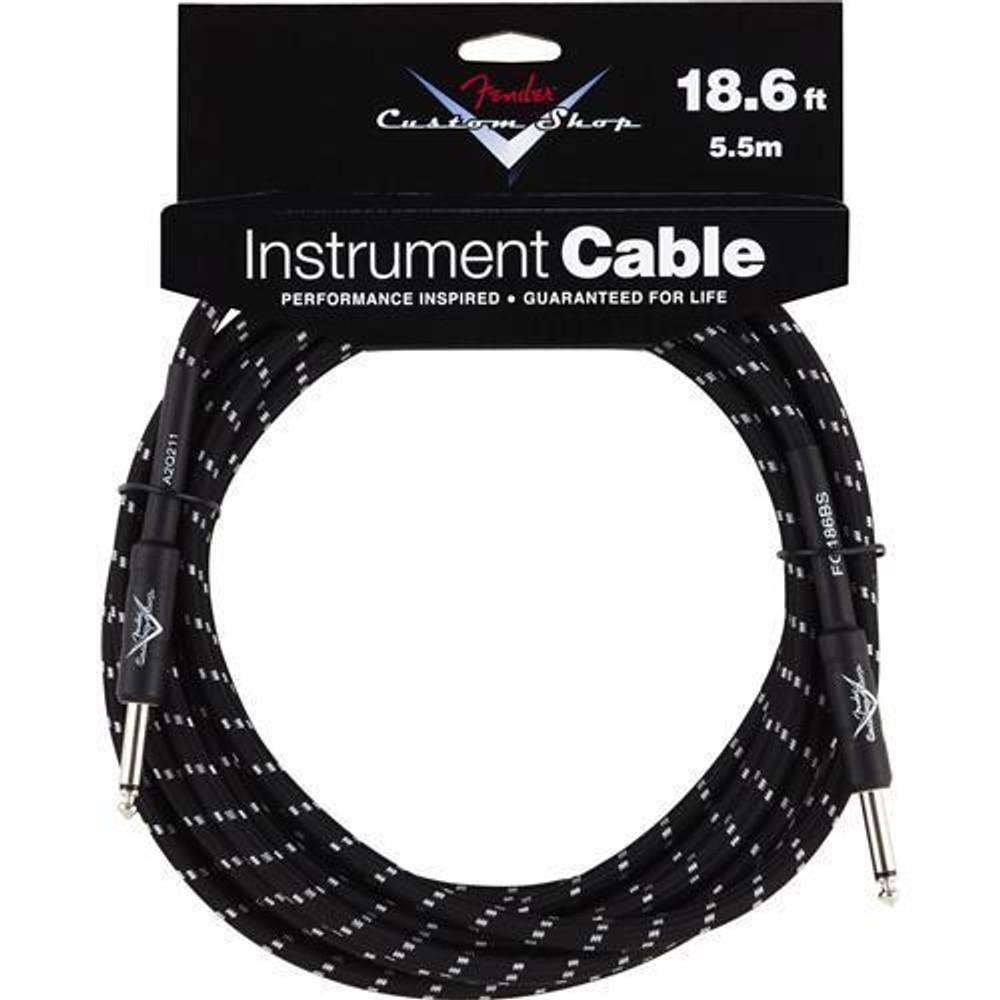 Fender Fender 18.6 Black Tweed Instrument Cable