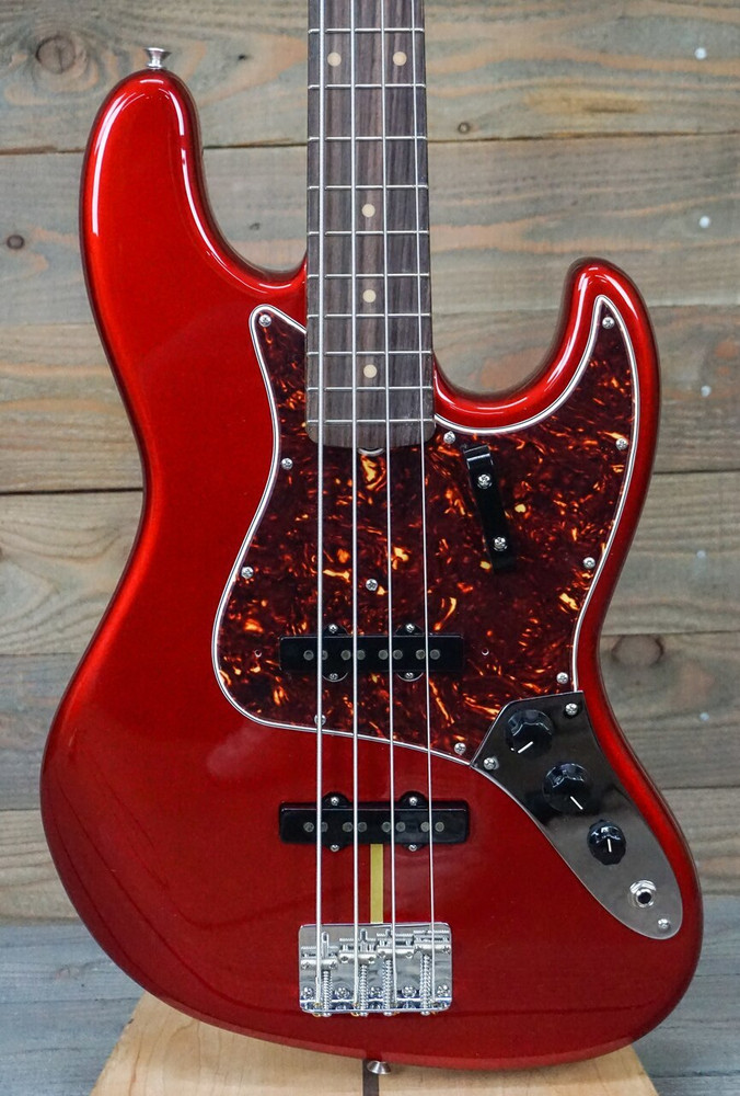 Fender American Original 60s Jazz Bass - Candy Apple Red